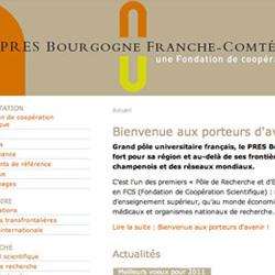 Les sites Internet de l'Université de Bourgogne