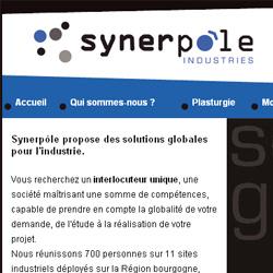 Synerpôle site internet
