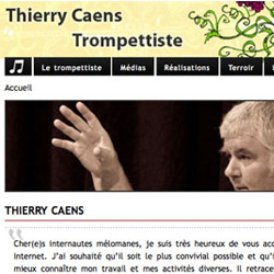 site Internet de Thierry Caens