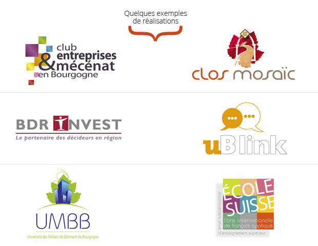 exemples création logos