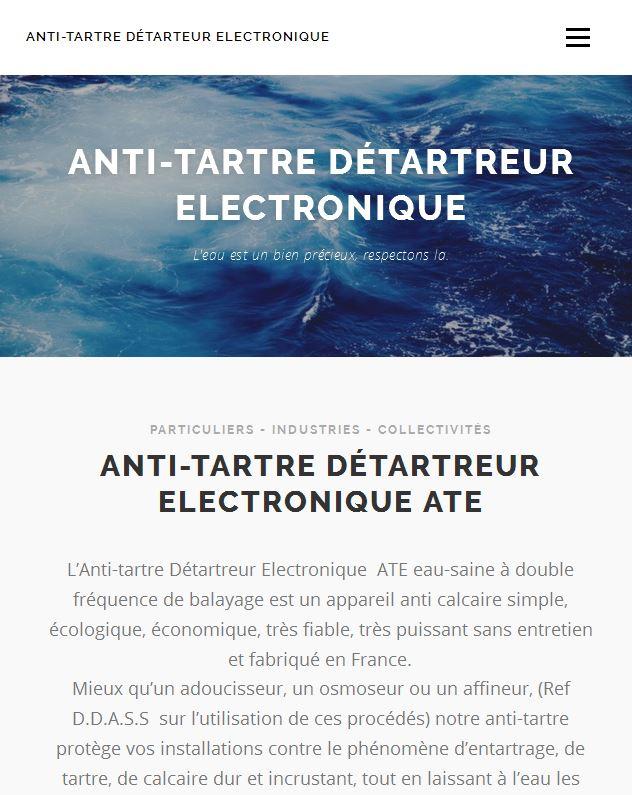 Site web antitartre.fr
