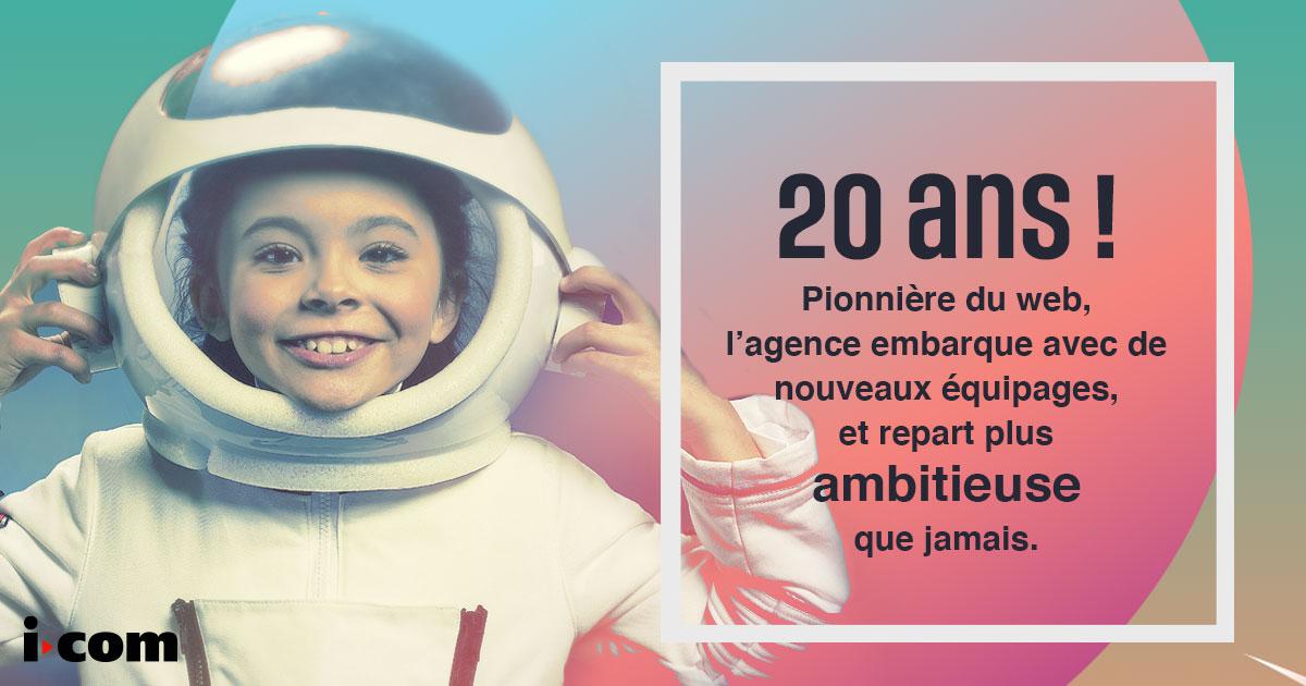 notre agence digitale a 20 ans !