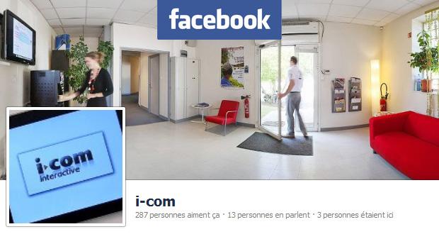 i-com sur facebook