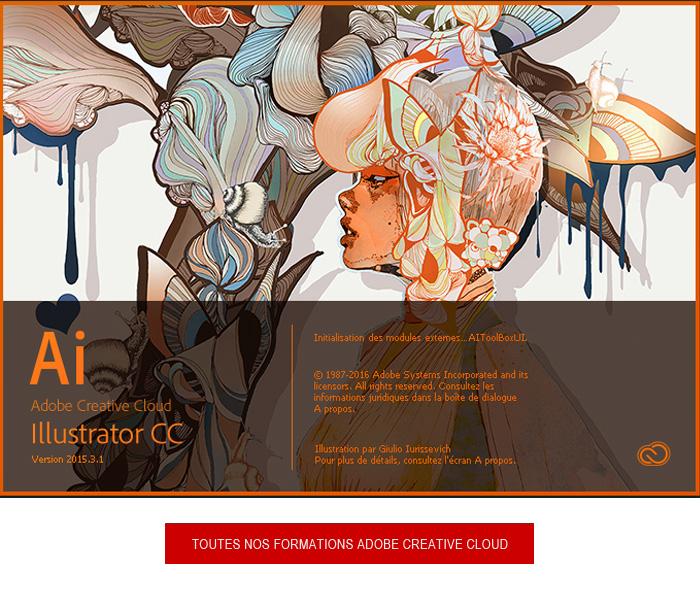 formation Adobe Illustrator CC