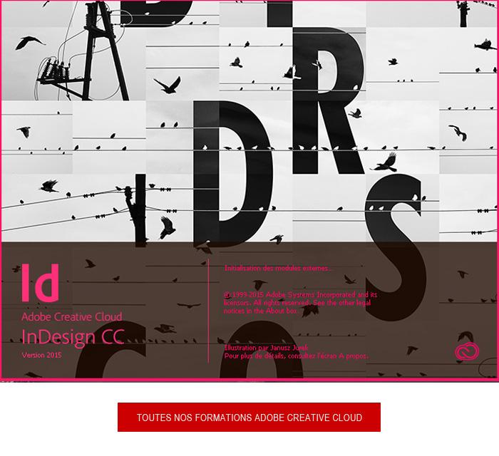 formation Adobe Indesign CC