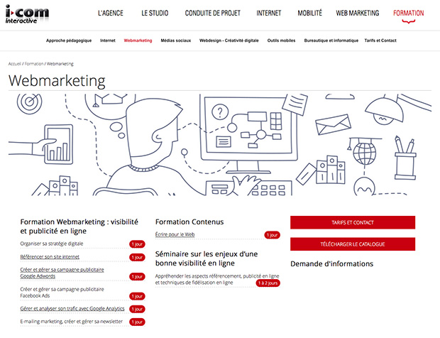 formations webmarketing