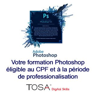 Certification TOSA Photoshop