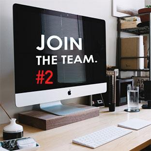 Rejoignez notre équipe !